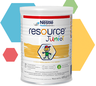 Resource Junior w proszku | Nestlé Health Science